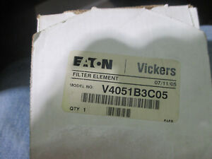 Eaton Vickers Hydraulic Suction Filter V4051b3c05 1 6 Id X 3 88 Od