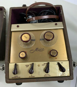 Vintage Maico F 1 Hearing Tester Audiometer