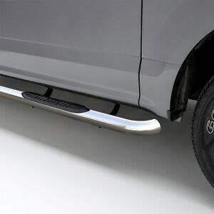 Aries 203003 2 3 Polish Stainless Side Bars For Select Mazda B Ford Ranger