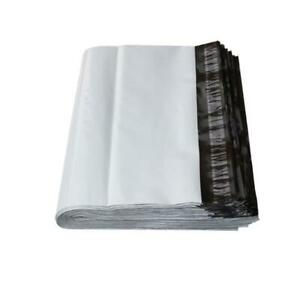Poly Mailers Shipping Envelopes 100 Plastic Packing Mailing Bags White Bs