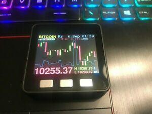 Cryptocurrency Price Ticker Color Lcd Screen Usb Wifi Btc And Alts Options