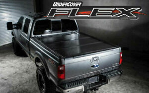 Undercover Flex Hard Folding Tonneau Cover For 2016 20 Toyota Tacoma 5 Bed