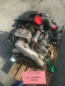 05 Chevrolet Gmc 2500hd Duramax 6 6 Lly Engine Motor Complete 04 05 168k