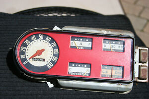 48 50 Ford Truck Vintage Speedometer Gauge Cluster Oil Fuel Amp Water