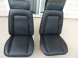 1967 1968 1969 Nice 67 68 69 Camaro Firebird Seats New Covers Without Headrests