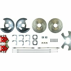 Right Stuff Afxrd01z Gm 10 12 Bolt Rear Disc Brake Conversion