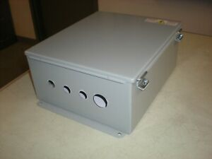 Hoffman Cat No A1412ch Enclosure With Backing Plate 2