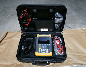 Fluke 199b Scopemeter Kit 200 Mhz 2 5 Gs s