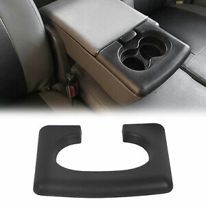 Center Console Cup Holder Armrest Pad Replacement Black Fits Ford F150