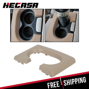 Center Console Cup Holder Armrest Pad Replacement Tan Fits Ford F150