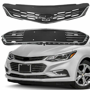 For Chevrolet Cruze 2016 2018 Front Bumper Upper Grill Middle Lower Grille