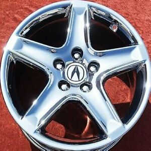 Exchange Set Of 4 Chrome 17 Acura Tl Oem Factory Wheels Rims 71733