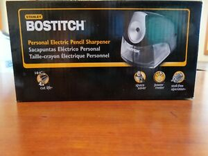 Stanley Bostitch Personal Electric Pencil Sharpener New In Box