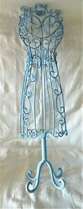 Vintage Antique Wire Metal Doll Dress Form 20 5 Tall Display Mannequin Clothing