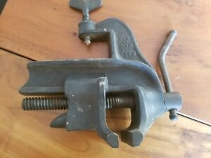 Vintage Table Top Clamp Bench Vise Anvil Gunsmith Clamp 2 1 2 Width Usa Made