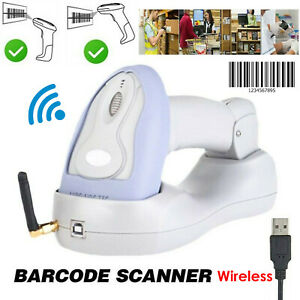 Wireless Laser Usb Barcode Scanner Scan Gun Label Reader Pos Bluetooth 2 4ghz Bp
