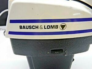 Baush Lomb Stereozoom 4 Microscope Head no Objectives 0 7x 3 0x as is