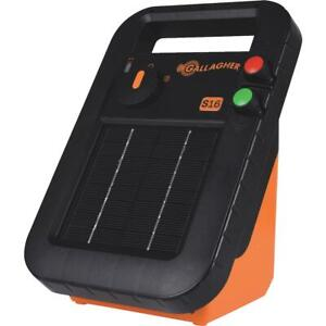 Gallagher S16 30 acre Solar Electric Fence Charger G341414 1 Each