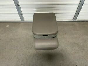 2003 2008 Dodge Ram Center Jump Seat Console Tan Vinyal