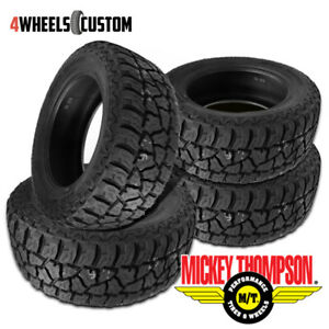 4 X New Mickey Thompson Baja Atz P3 Lt315 70r17 All Terrain Smooth Tire