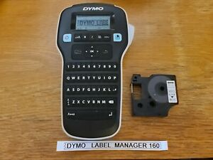 Dymo Label Manager 160 Handheld Battery Operated Label Maker With Tape
