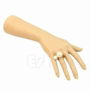 Nail Art Fake Model Watch Ring Bracelet Gloves Stand Display Mannequin Hand