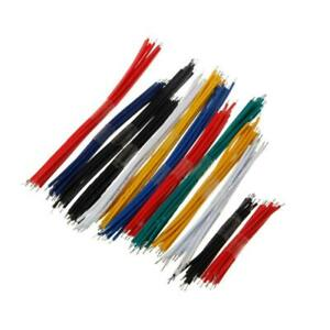 130 Pcs 13 Value 24awg Breadboard Jumper Cable Wire Kit Double Tinned Colorful