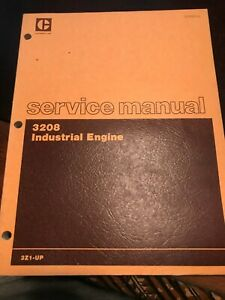 Caterpillar 3208 Industrial Engine Service Manual