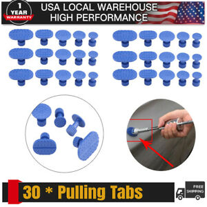30 Pdr Glue Pulling Tabs Paintless Dent Repair Hail Removal Kit For All Puller