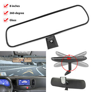 360 Adjustable Auto Universal Interior Rear View Mirror Glass 8 Day Night