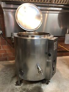 Groen Steam Jacketed Kettle 40gal Commerical Kitchen Used Condition