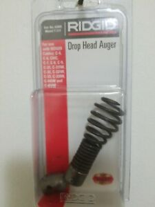 Ridgid Model T 217 Drop Head Auger For Drain Cleaning