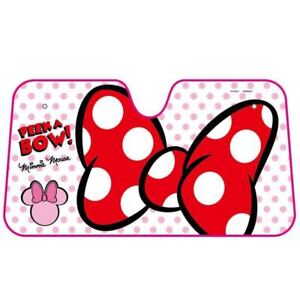 New Disney Minnie Mouse Double Thickening Sun Block Shade Shield Car Accessories