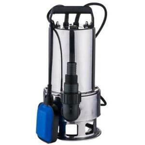 1 5hp Water Pump Stainless Steel Clear Dirty Pool Pond Drain W Handle Portable