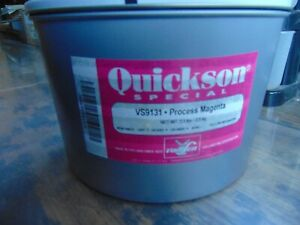 Van Son Quickson Special Process Magenta Printers Ink 5 5 Lb Can