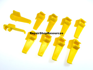10 Tire Changer Mount Plastic Protective Head Inserts Accuturn Sicam Bosch