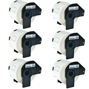 6 Roll Dk 1209 Dk1209 Address Labels For Brother Ql 570 1050 570vm 720nw 710w