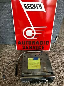 Mercedes Becker Europa Parts Unit Radio W109 W108 W111 W116 R107