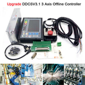 Upgrade Ddcs V3 1 3 Axis Offline Controller Motion G code Power Supply Router