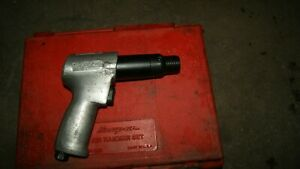 Snap On 2040 Air Hammer Refurbished With Case And Used Bits