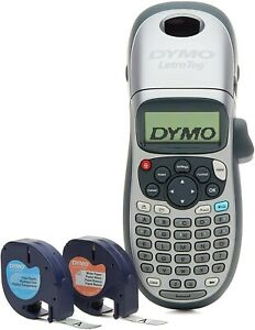 Dymo Letratag Lt 100h Plus Handheld Label Maker Two Tapes