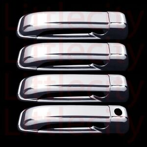 For 2019 Dodge Ram 1500 Classic Model Only Chrome 4 Door Handle Cover