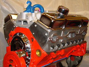 350 405hp New Chevy Block High Performance Balanced Crate Engine Aluminum Head