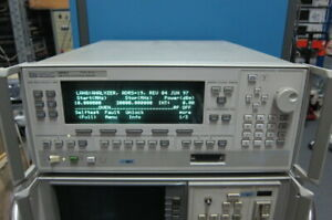 Hp agilent 83620a Synthesized Sweeper 10 Mhz To 20 Ghz With Option 004 008 8ze
