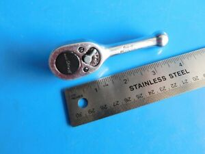 Used Snap On Tools 3 8 In Dr Stubby Ratchet Part Fk720