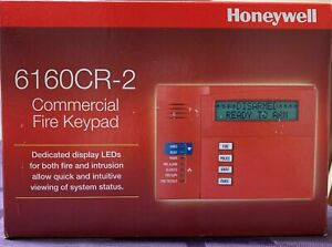 Honeywell 6160cr 2 Fire Alphanumeric Keypad New In Box