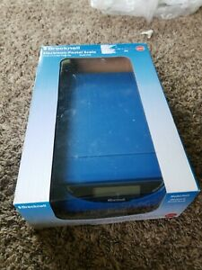 Brecknell Ps25 Electronic Usb Or Battery Postal Scale 25 Lb Capacity blue New