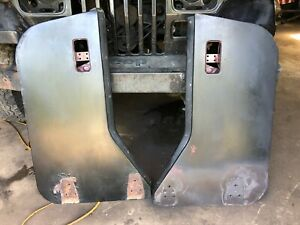 Jeep Wrangler Yj Cj 76 95 Hard Half Doors Door Shell Pair Set