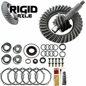 Ford 9 2 89 Support 4 10 4 11 Ring Pinion Gear Set W Master Bearing Kit