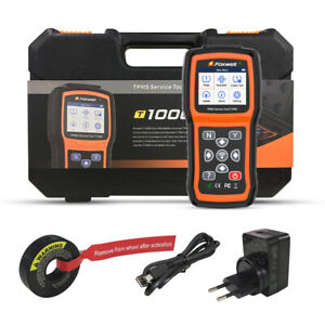 Foxwell Nt510 For Gm Abs Srs Dpf Tps Brt All System Obd2 Scanner Code Reader